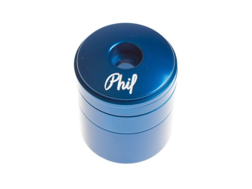Phil Wood Headset and Spacer Set - Blue